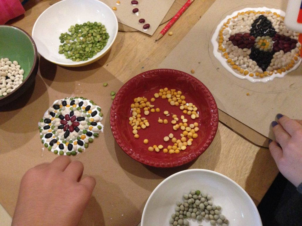 bean-mandala-supplies