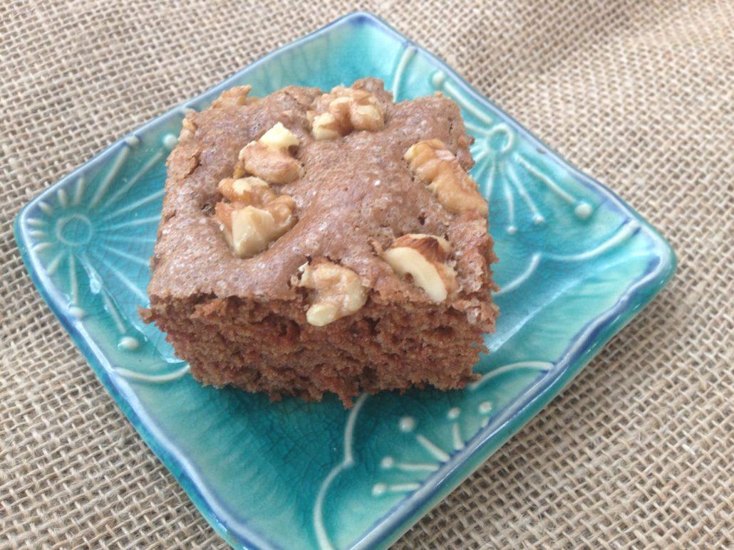 Sourdough Chocolate Walnut Square