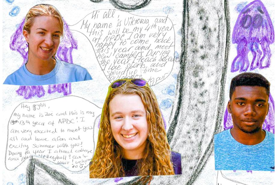Staff collage