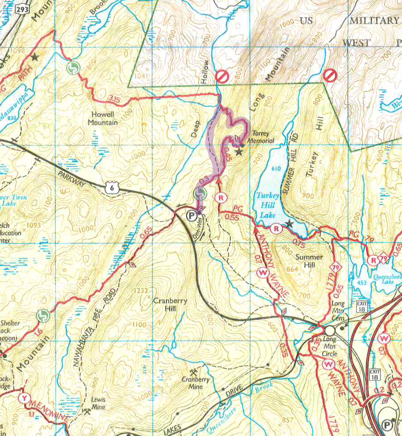 Directions for Hiking Long Mountain with Kids